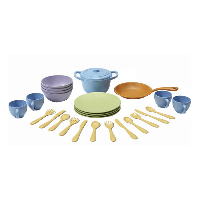 Green Toys, Cookware and Dining Set