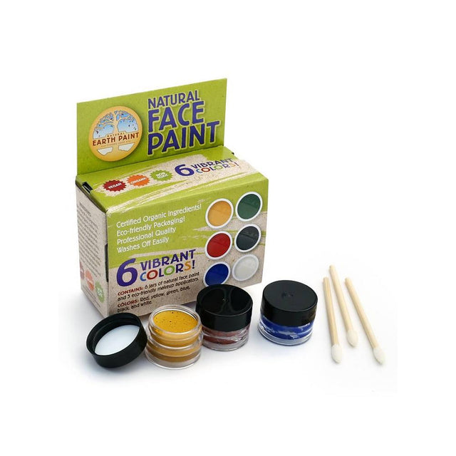 Natural Earth Paint, Face Paint