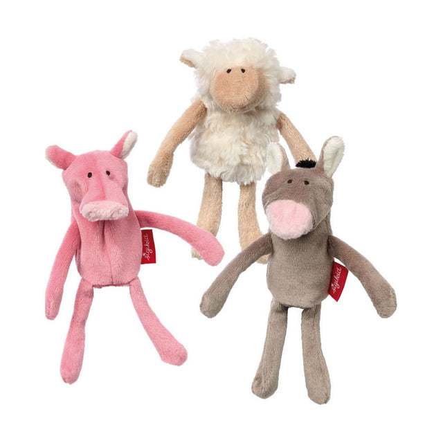 Sigikid, Farm Finger Puppets Set
