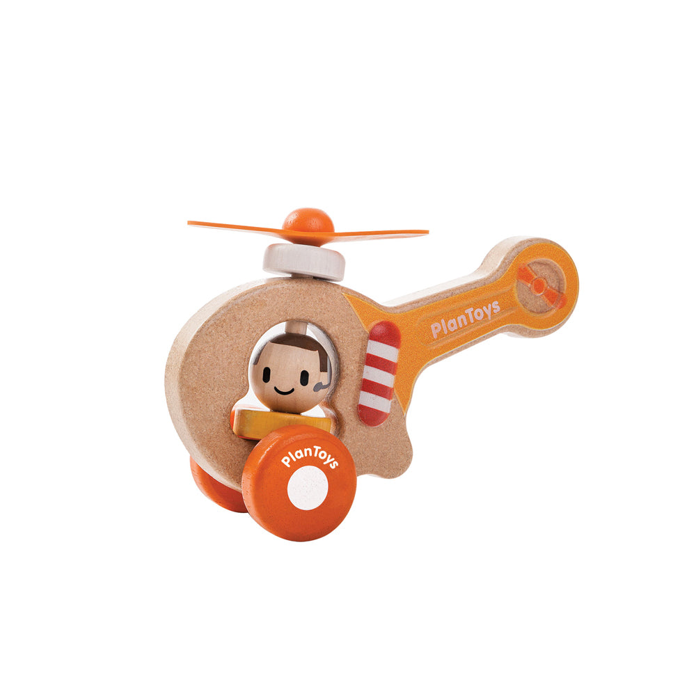 Plan Toys, Wooden Helicopter