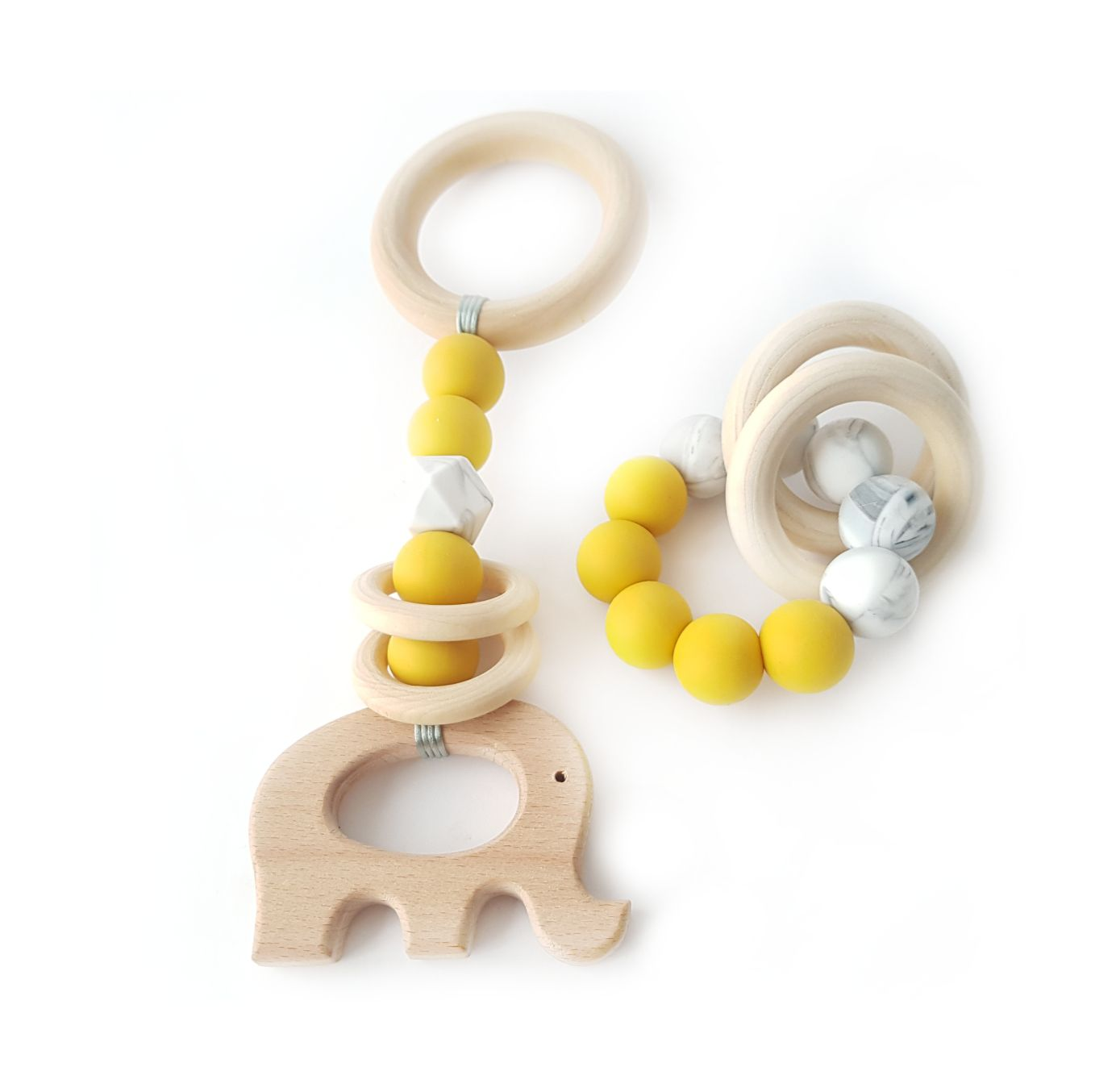 Chewies&more, Stroller Rattle Elephant