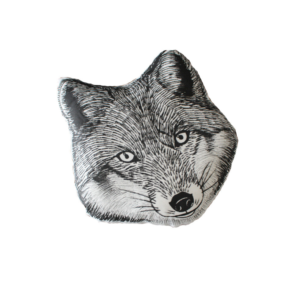 product fox blue pillow by knitted scotland cushion lambswool wilson in donna