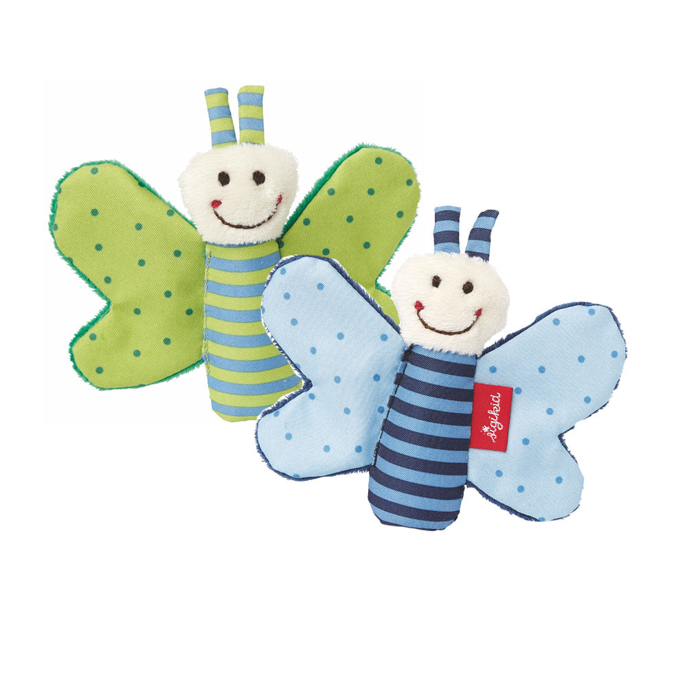 Sigikid, Soft Toy - Butterfly Stars - Green