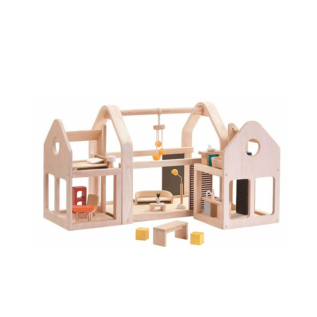 Plan Toys, Slide and Go Doll House
