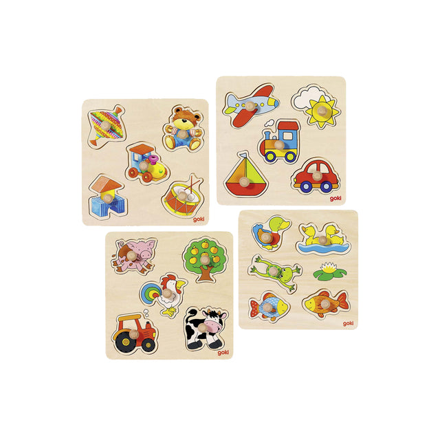 Goki, Small Sorting Puzzles