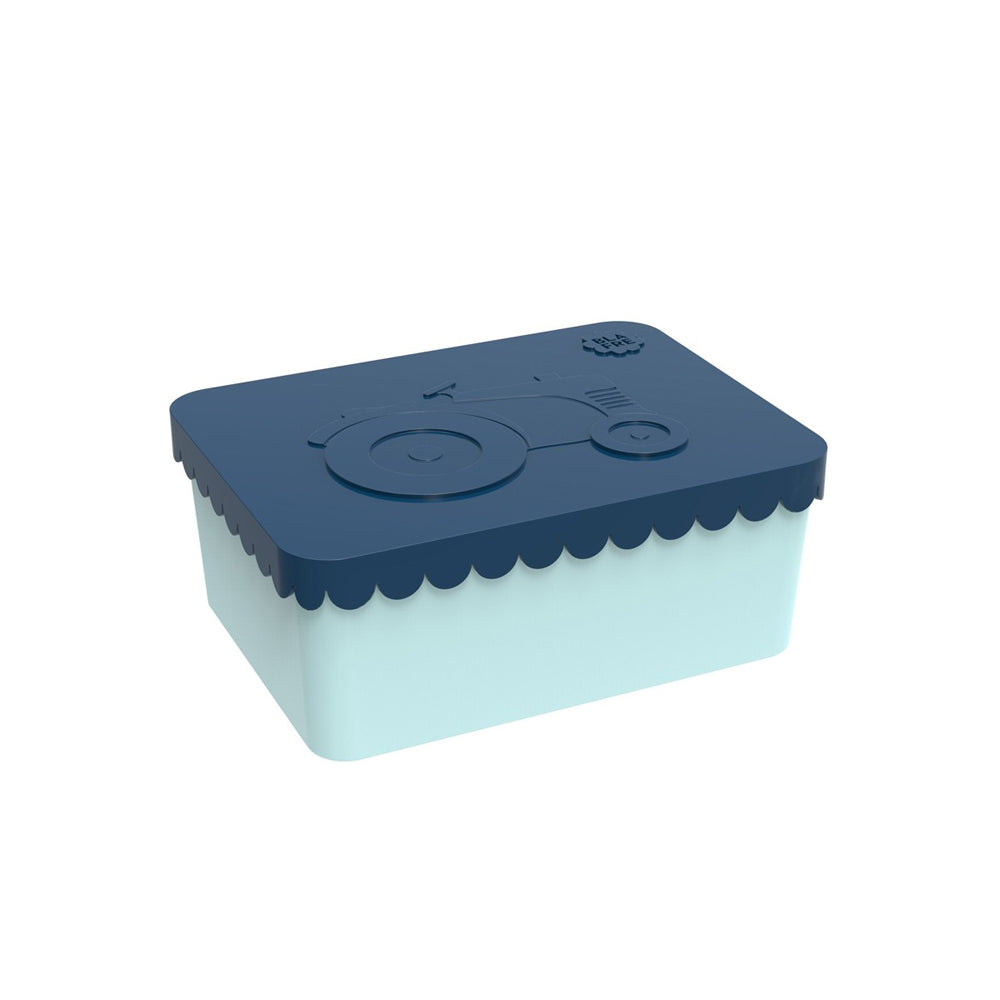 Lunchbox - Tractor Square - Blue