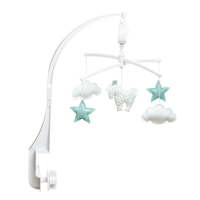 Pouce et Lina, Musical Mobiles, White and Blue Unicorn