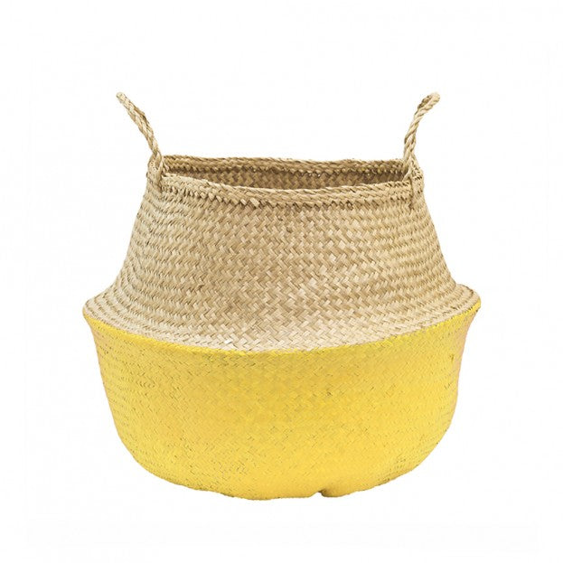Olli Ella - Belly Baskets - Yellow