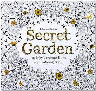 24 Pages Secret Garden English Edition Drawing Coloring Book