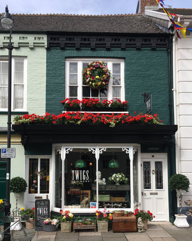 """And in July 2017 we relocated to a lovely Victorian Shop in Pilton. The old """"Linacres Pottery"""", which has been the hub of lots of wonderful creative work ..."""