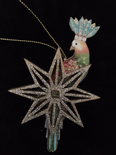 Exotic Bird Christmas Decoration