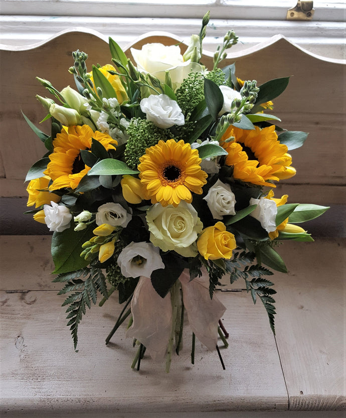 Eternal Sunshine Bouquet with Sunflowers