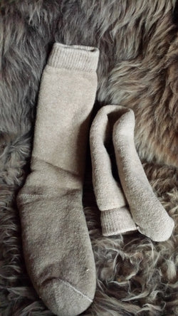 The Alpaca Tundra Sock - Made in WI, USA Sizes Medium and Large