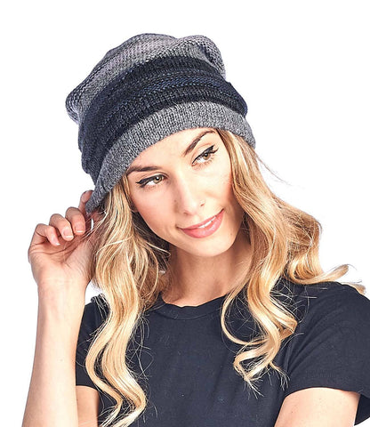 Alpaca Beanie - Colorado - Charcoal