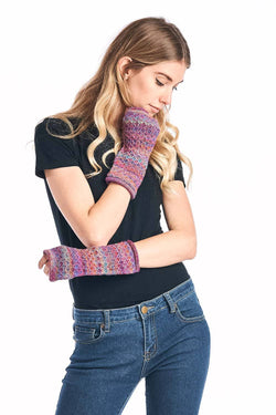 Alpaca Gloves - Printed - Mosaic