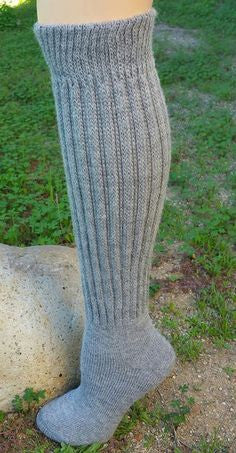 Knee High Alpaca Silver