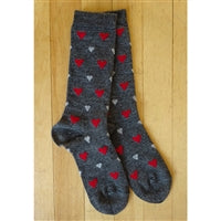 Alpaca Sock - Novelty Print for Men and Women in Small Medium Large