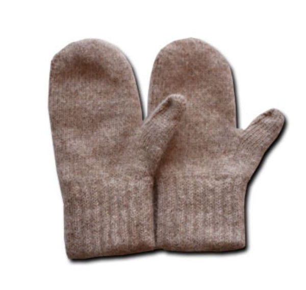 Alpaca Mittens - Made in USA for Men and Women in Small Medium Large Extra Large