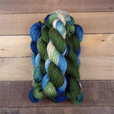 DK Alpaca Yarn Handpainted - Small Batch