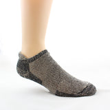 Fawn/Black Low Pro Alpaca Sock