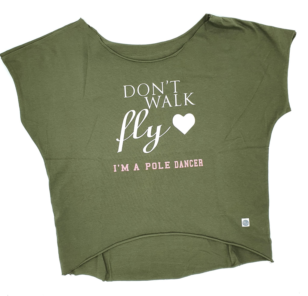Don't walk, fly - loose tee