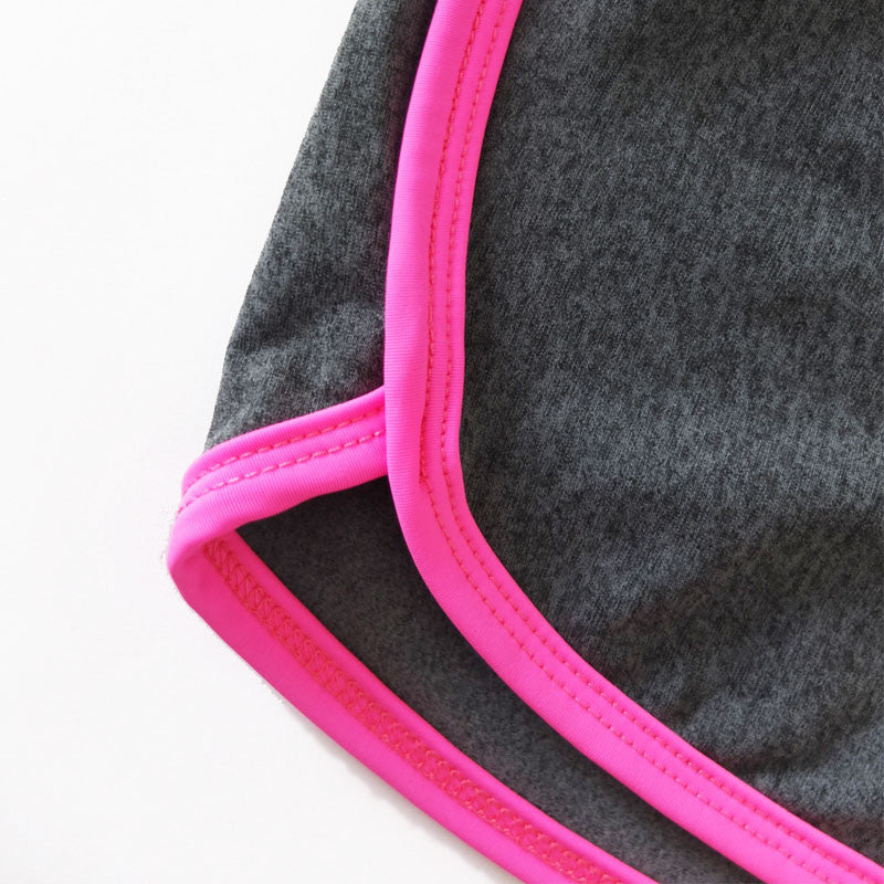 Shorts rosa fluo