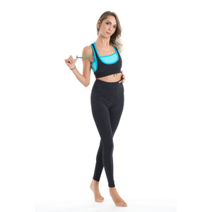Leggings total black