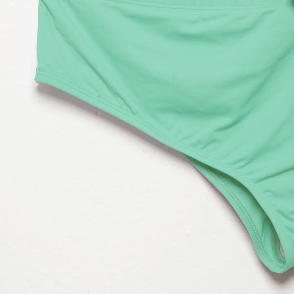 Top Milano mono spalla - verde acqua  // Milano one shoulder top - aqua