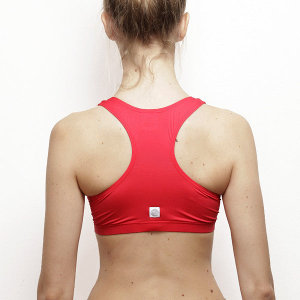 Top Firenze rosso corallo - racerback // Coral red Firenze top - racerback