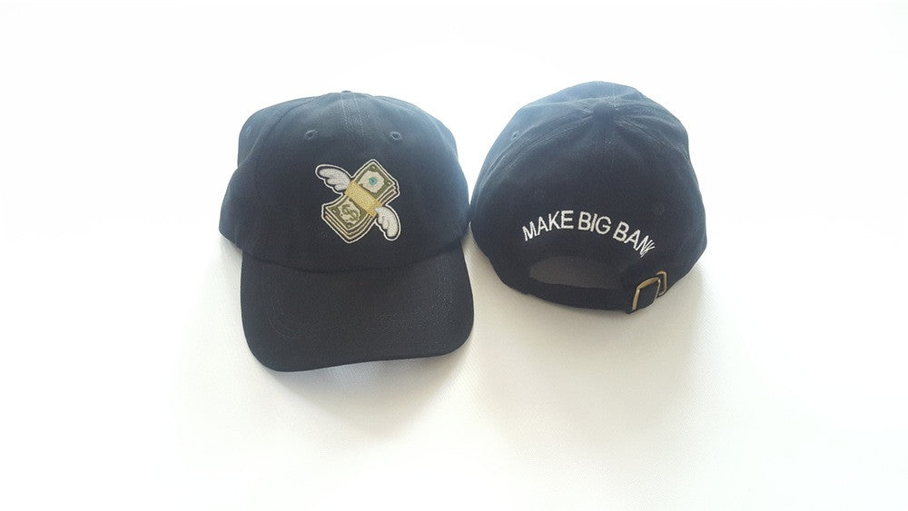 Flying Money Dad Hat - Make Big Bank