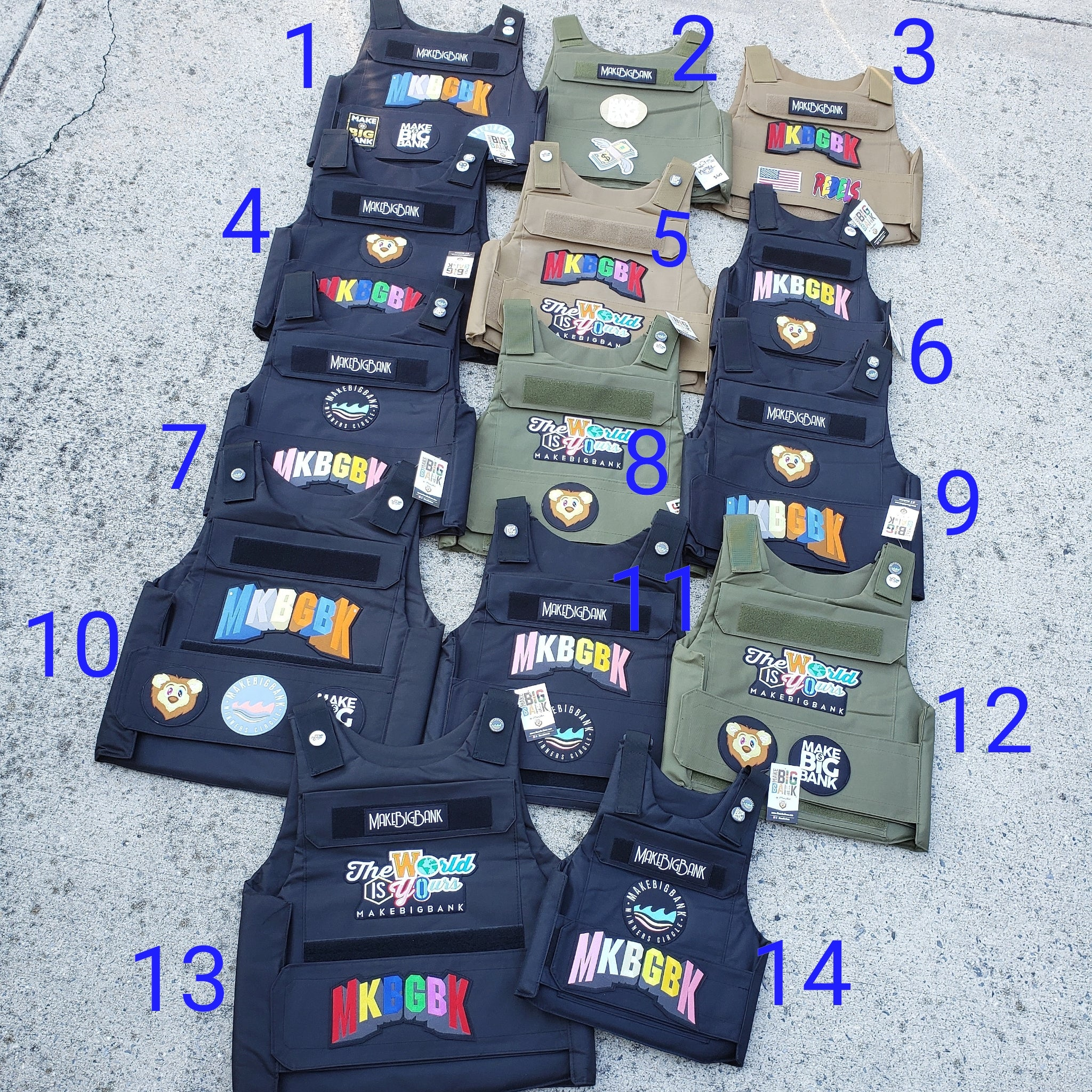 MakeBigBank Tactical Vest - Make Big Bank