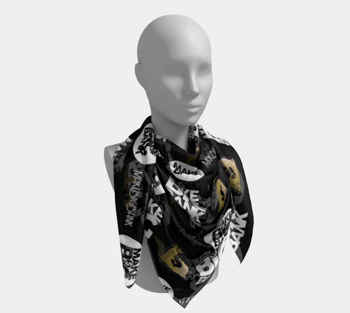 Silk Scarf (Bandana) - Make Big Bank