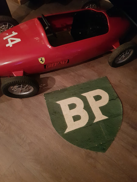 BP floor sticker