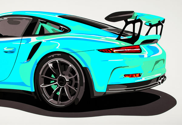 Wallpaper GT3 RS  Different colors possible
