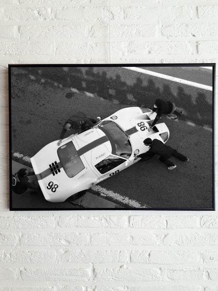 Poster Francorchamps Pits 50cm x70cm