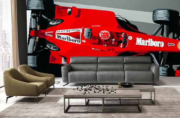 Wallpaper Schumacher ferrari