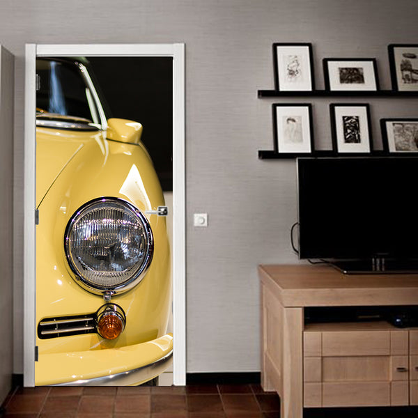 Doorwrap 356 yellow