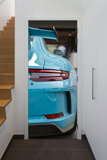 Doorwrap gt3 blue