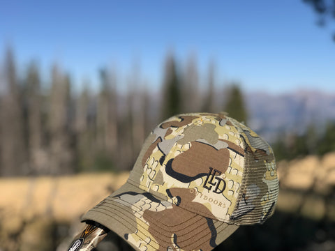 LED Outdoors KUIU Camo Cap