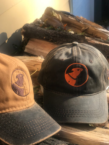 Angry Pheasant Cap Waxed Canvas (2 Color Options)