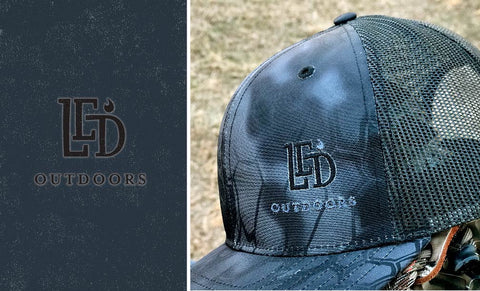 LED Outdoors™ Triple Black Kryptek Cap