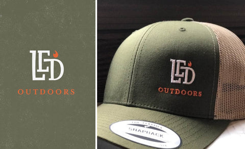 LED Outdoors™ Moss/khaki Trucker