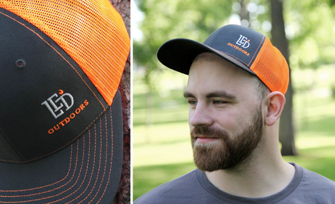 LED Outdoors™ Electric Orange Trucker
