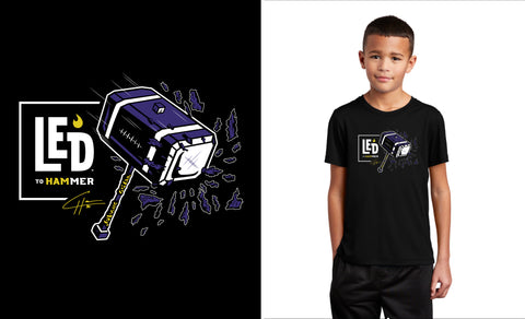 LED to® Hammer Youth Performance Tee