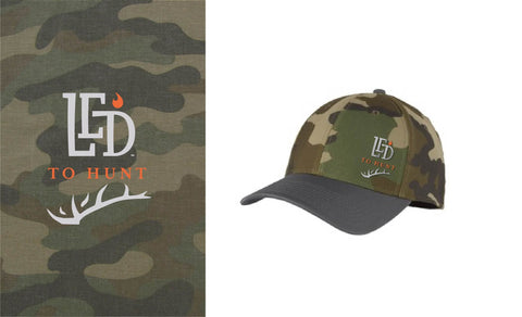 New Era 2-tone Camo Cap