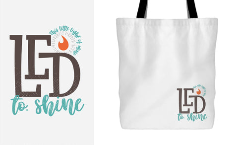 LED to® Shine Tote