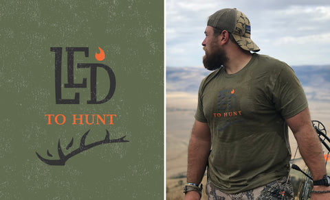 LED to® Hunt Antler Premium T-shirt