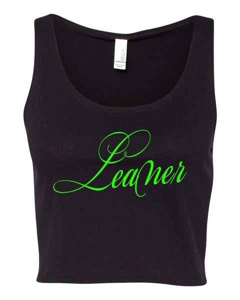 See You Later Leaner Crop Tank