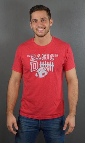 Basic Defense Men's Triblend T-Shirt