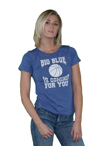 Women's Big Blue Kentucky Basketball T-Shirt